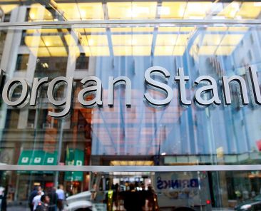 NEW YORK - JUNE 09: Morgan Stanley headquarters are seen June 9, 2009 in New York City. Morgan Stanley is one of ten lenders that won U.S. Treasury approval to pay back $68 billion in funds from the Troubled Asset Relief Program (TARP). (Photo by Mario Tama/Getty Images)