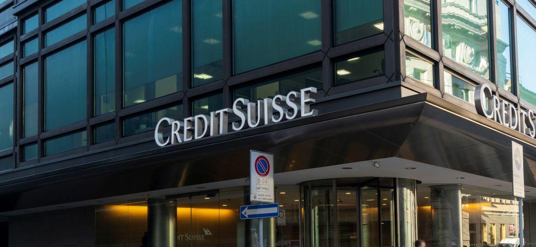 Credit Suisse headquarter in Milan