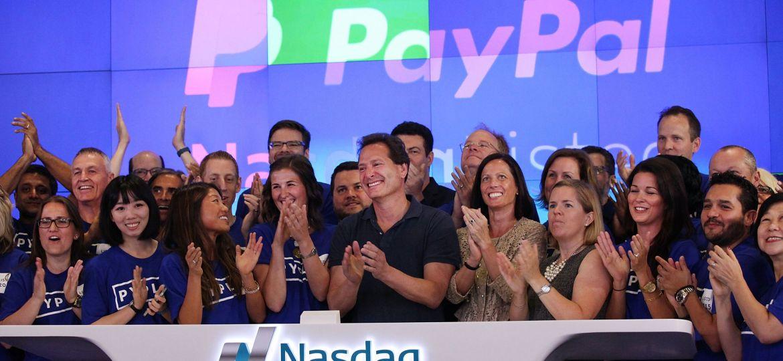 Paypal CEO Dan Schulman Opens Trading On Nasdaq Exchange