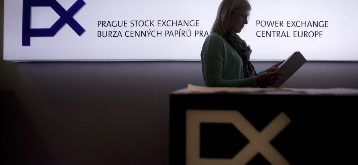 Czech Stock Exchange And Central Bank As Record Long Recession Continues