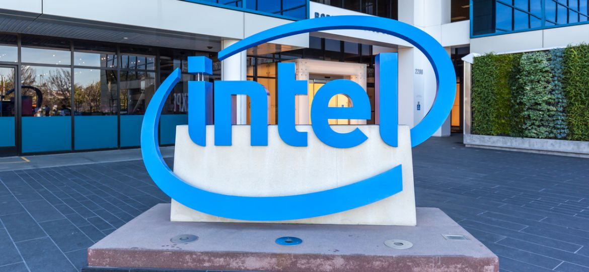 Entrance of The Intel Museum in Silicon Valley.