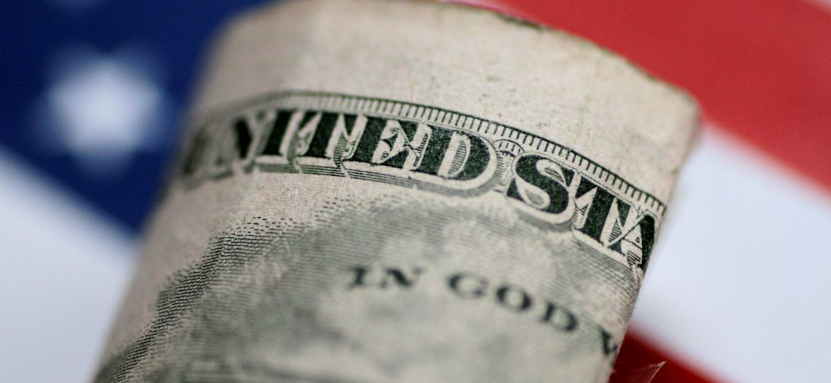 FILE PHOTO: Illustration photo of a U.S. five dollar note