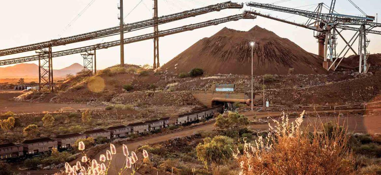 železný důl