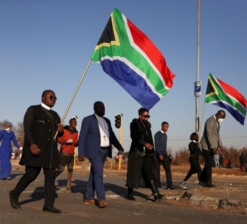 Jižní afrika ekonomy